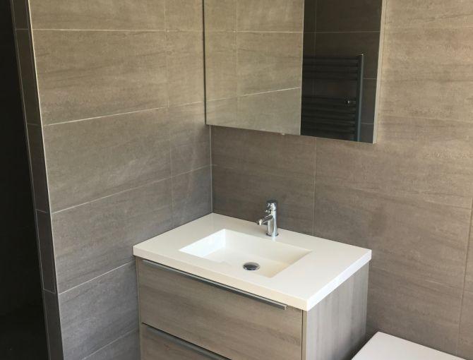 De badkamer in Wateringen | WoodmanCrafts